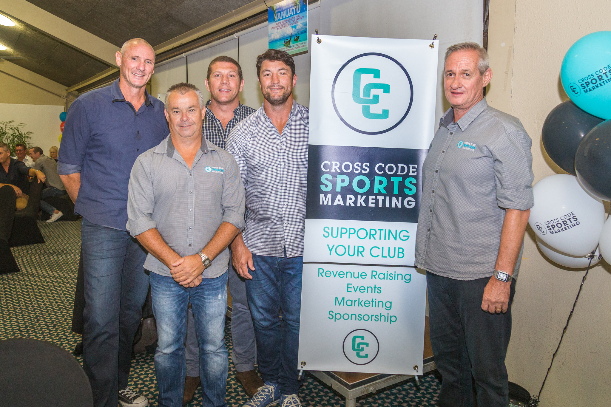 Cross Code Sports Marketing presents Fletch and Hindy
